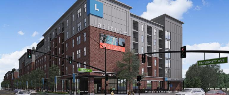 Latitude Building Rendering