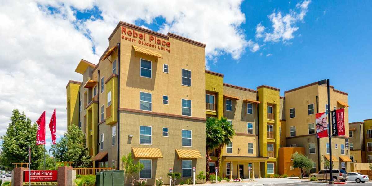 UNLV内华达大学拉斯维加斯分校 | Rebel Place校外公寓实地看房报告+实拍