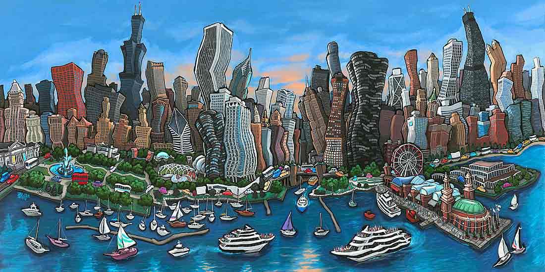 从你的窗户看见全世界 -芝加哥学生公寓Tailor Lofts